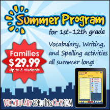 Time4Learning - VocabularySpellingCity
