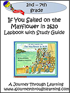 If You Sailed the Mayflower in 1620 Lapbook