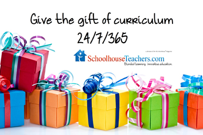 Give the gift of curriculum.