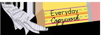 Everyday Copywork