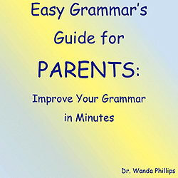 Easy Grammar Guide for Parents