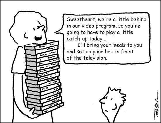 Cartoon by Todd Wilson