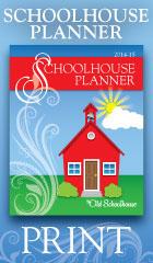 Schoolhouse Print Planner