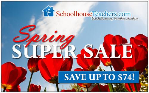 Spring Super Sale!