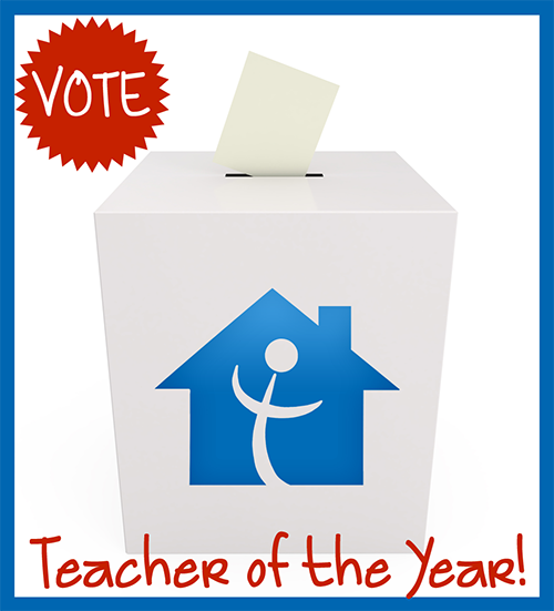 Vote for Teacher of the Year!