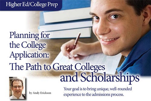 Planning for the College Application