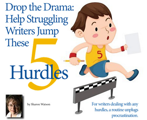 Drop the Drama: Help Struggling Writers Jump These 5 Hurdles