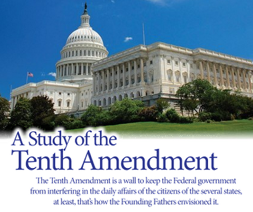 A Study of the Tenth Amendment