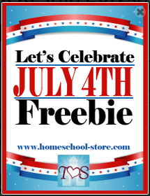 Let's Celebrate July 4th Freebie