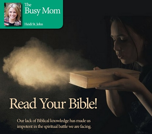 Read Your Bible!