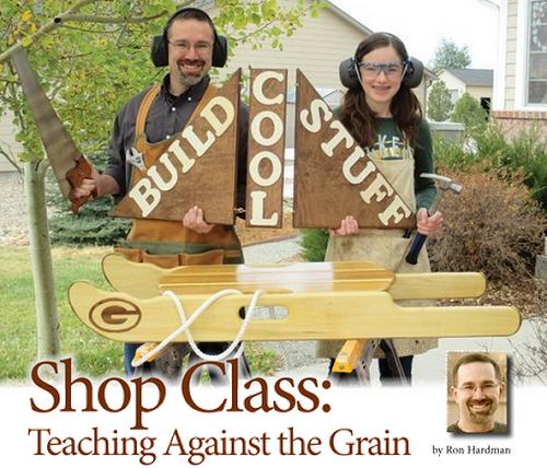 Shop Class: Teaching Against the Grain