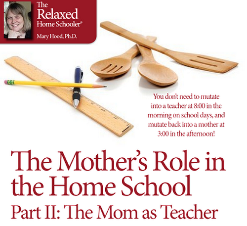The Mother's Role in the Home School