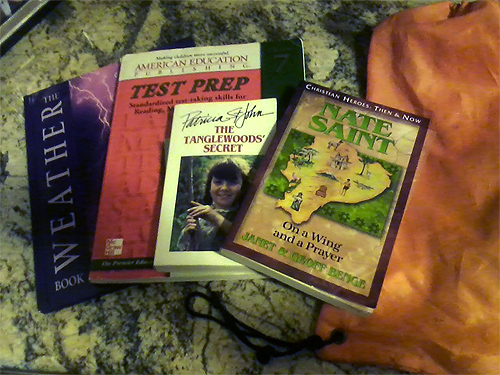 Books to take along