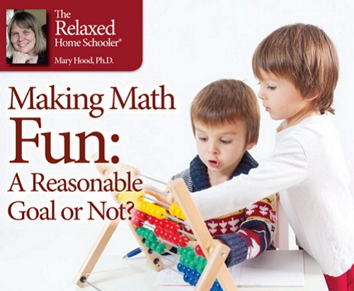 Making Math Fun_ A Reasonable Goal or Not_