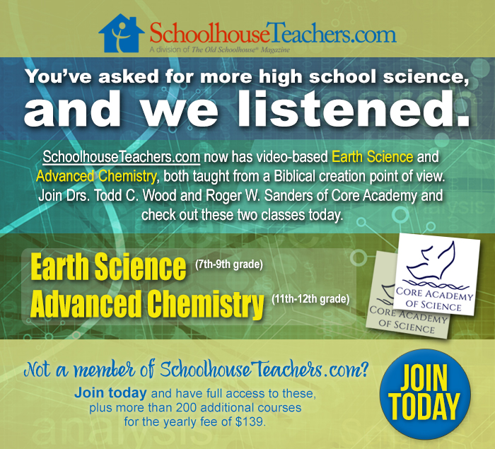 New Science Classes at Schoolhouse Teachers_