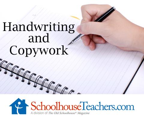 Handwriting and Copywork
