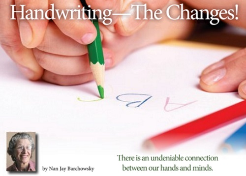 Handwriting--The Changes_
