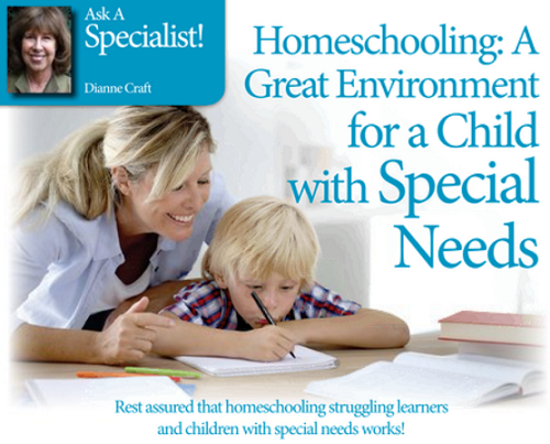 Homeschooling_ A Great Environment for a Child with Special Needs