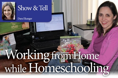 Working from Home while Homeschooling