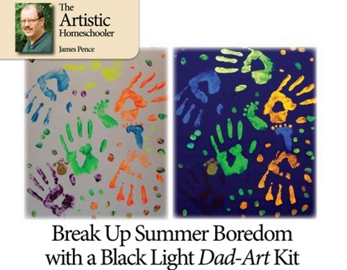 Black Light Dad-Art Kit