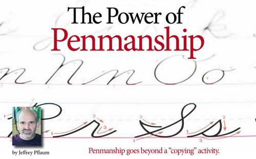 The Power of Penmanship