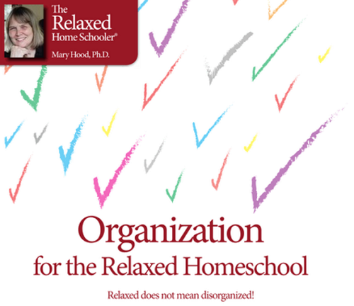 Organization for the Relaxed Homeschool