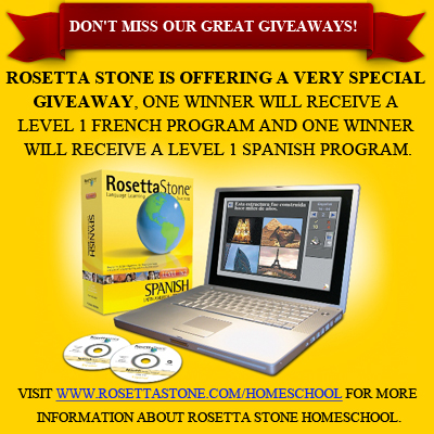 Rosetta Stone Giveaway