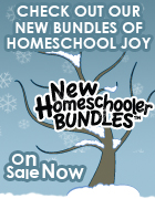 Bundle up this winter with TOS New Homeschooler Bundles!