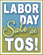 TOS Labor Day Sale