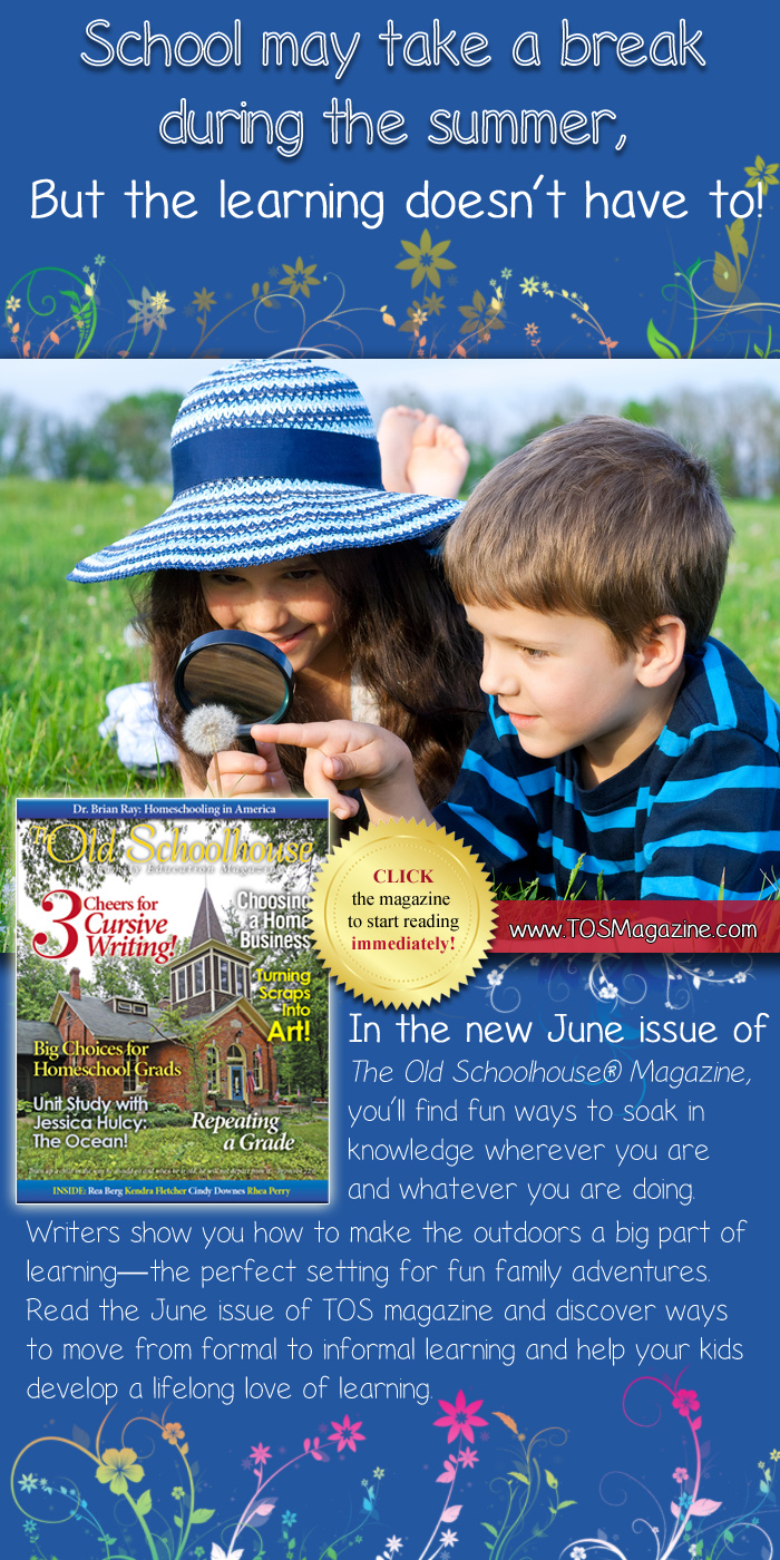 The Old Schoolhouse Magazine June 2013