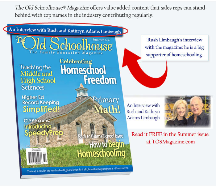 See the Summer Issue and Rush Limbaugh Article!