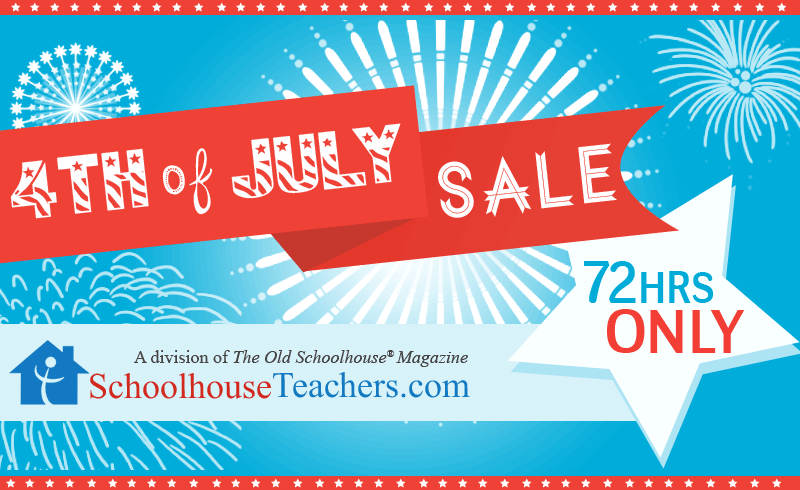 SchoolhouseTeachers.com 4th of July Sale - 72hr only!
