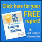 Reading and Spelling Tips
