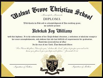 Homeschool Diplomas