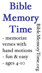 Bible Memory Time