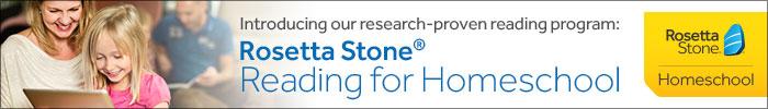 Rosetta Stone Reading for Homeschool